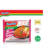 Indomie Instant Fried Noodles Hot & Spicy (Pack of 10) by Indomie