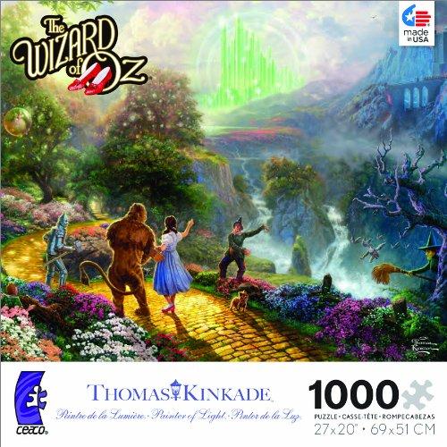 1000 piece wizard puzzle - 7