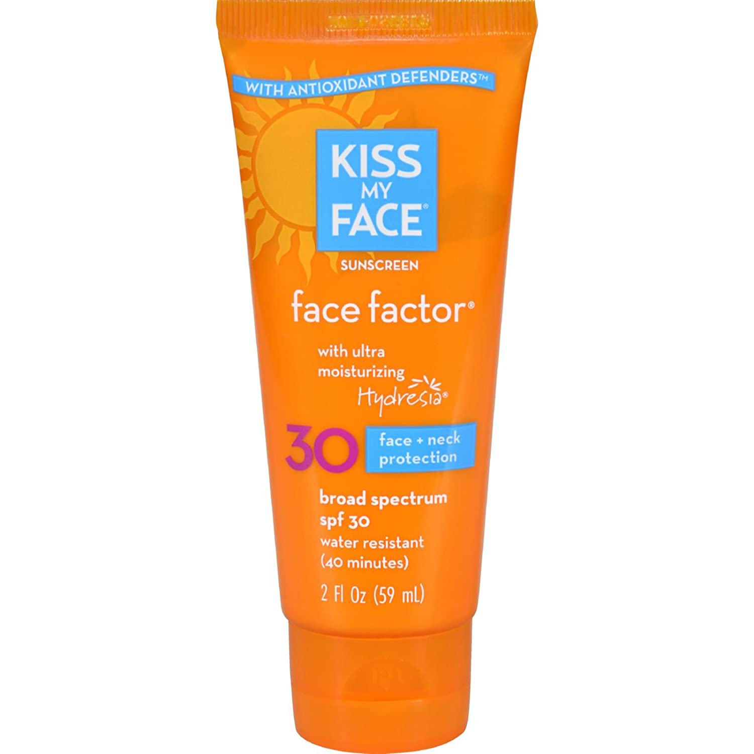 2 Pack of Kiss My Face Face Factor - SPF 30 - 2 fl oz