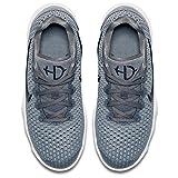 Nike Kids' Grade School Hyperdunk 2017 Low Basketball Shoes (Grey, 6.5 D(M) US)