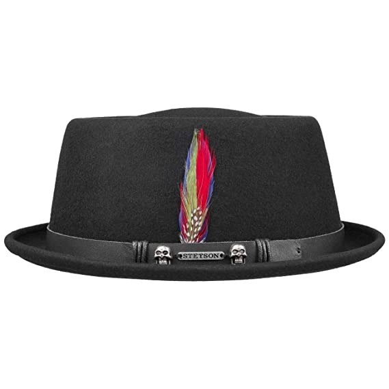 1eed85eaf Stetson Pennsylvania Pork Pie Hat Felt Men´s: Amazon.co.uk: Clothing
