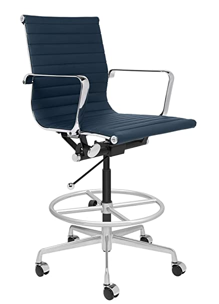Stupendous Amazon Com Soho Ribbed Drafting Chair Ergonomically Uwap Interior Chair Design Uwaporg