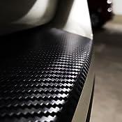 V-KLASSE Vito 639 Ladekantenschutz Lackschutzfolie von CCW/© mit Profi-Rakel in 3D Carbon Silber