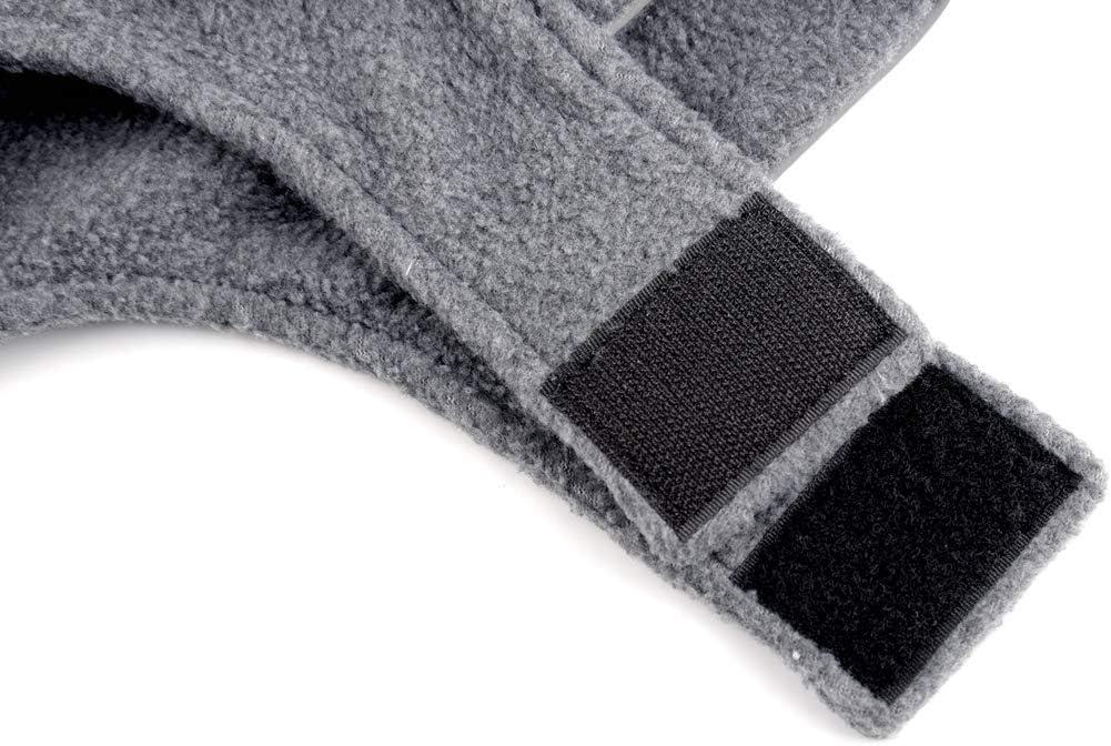 XS, Yellow ZEEY Reflective Dog Jacket Puppy Soft Fleece Coats Autumn Winter Warm Reflective Fashion Pet for Dogs Clothing