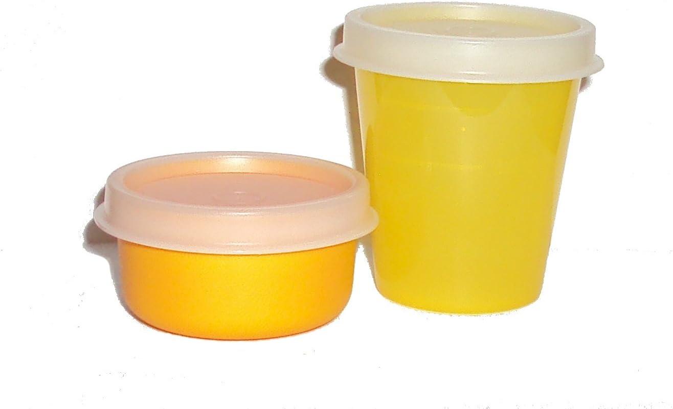 Tupperware Mini Bowl Smidgets Pill Box Smidget Container Starlight Blush Pink