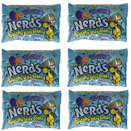 Nerds Covered Chewy & Bumpy Jelly Beans - 13 Oz Bag (Pack of (Nerds Jelly Beans)