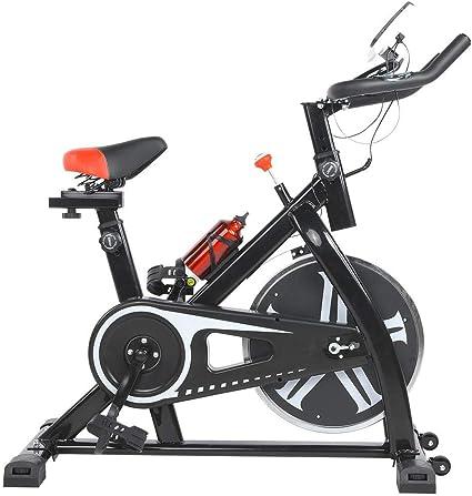 lahomie Bicicleta Estática Plegable, Profesional Ciclismo Estacionario Entrenamiento Fitness Cardio Ejercicio Quema de Grasa Interior Fitness Accesorio: Amazon.es: Deportes y aire libre