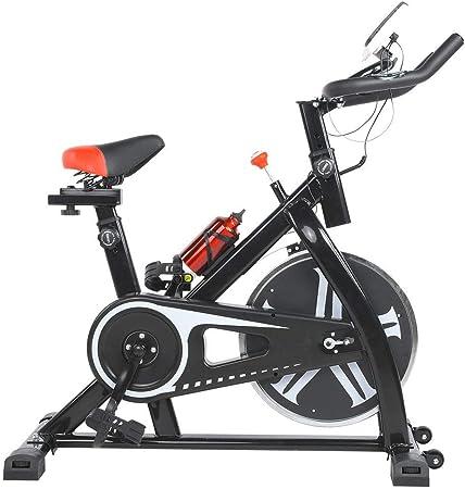 lahomie Bicicleta Estática Plegable, Profesional Ciclismo Estacionario Entrenamiento Fitness Cardio Ejercicio Quema de Grasa Interior Fitness ...