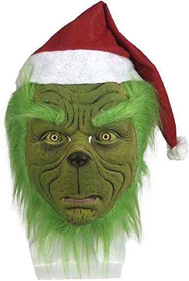 Birthday Gift Christmas Top Grinch Face TShirt Adult Kid Top Costume Dress Fency