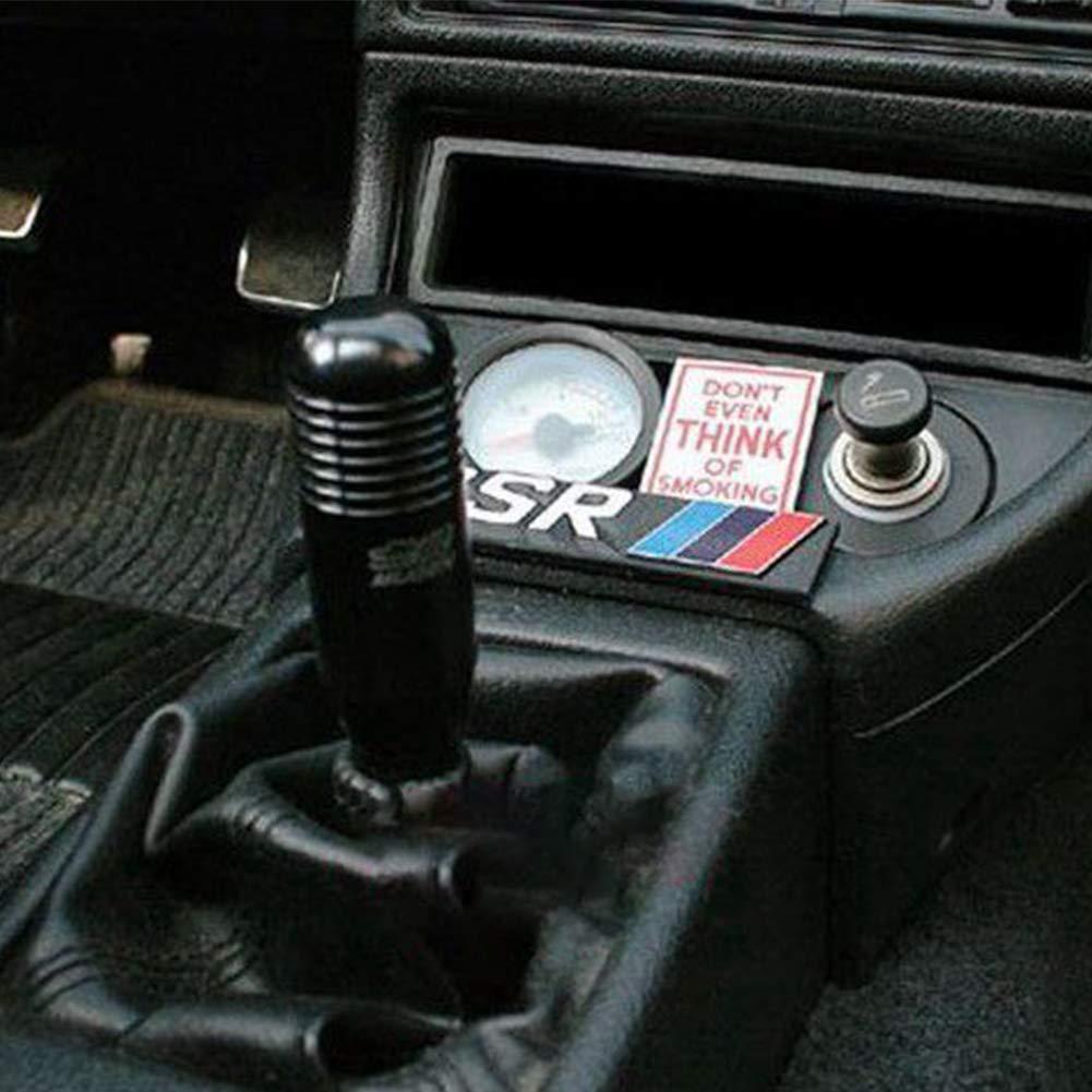 Universal Car Vehicle Aluminium Alloy Schaltgetriebe Ball Schwarz ZqiroLt Schaltknauf