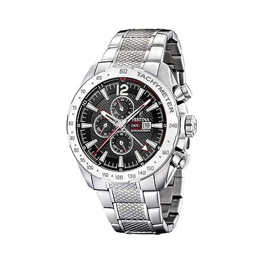 Amazon.com: Festina F20439/4 - Reloj cronógrafo de cuarzo ...