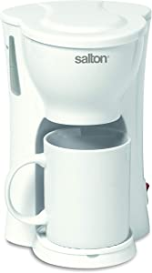 Salton FC1206 1-Cup, White Coffee Maker