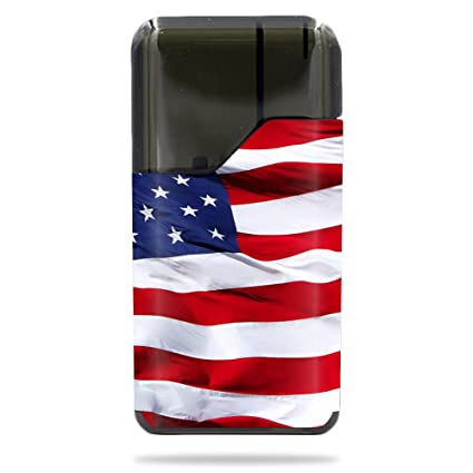 96bfd081be7 Amazon.com  MightySkins Skin for Suorin Suorin Air - American Flag ...