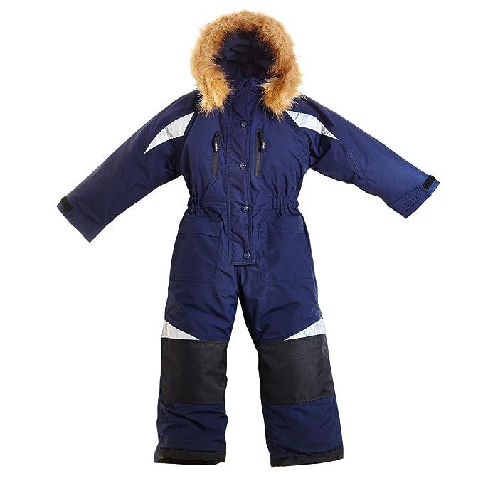 BMS - Abrigo para la nieve - para niña marine 11 años: Amazon.es: Ropa y accesorios