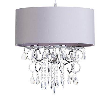 Pantalla cilíndrica para lámpara diseño de lámpara de araña ...