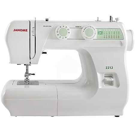 Janome 2212 Sewing Machine Amazon Co Uk Kitchen Home