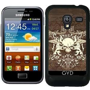 Funda para Samsung Galaxy Ace Plus S7500 - Cráneo De La Vendimia by comlaprom