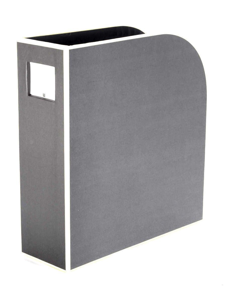 grau Stehsammler A4 grey Semikolon Format: 10,5 /× 26,0 /× 31,0 cm F/ür A4 352748 | Zeitschriften-Sammler und Dokumenten-Ordner