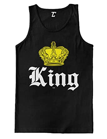 54ec011a4 King Crown - Royalty Father's Day Dad Men's Tank Top at Amazon Men's ...