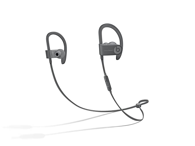 Beats Powerbeats3 Series Wireless Ear-Hook Headphones - Asphalt Gray (MPXM2LL/A) - (Certified Refurbished)