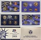 2001 S US Proof Set Superb Gem Uncirculated