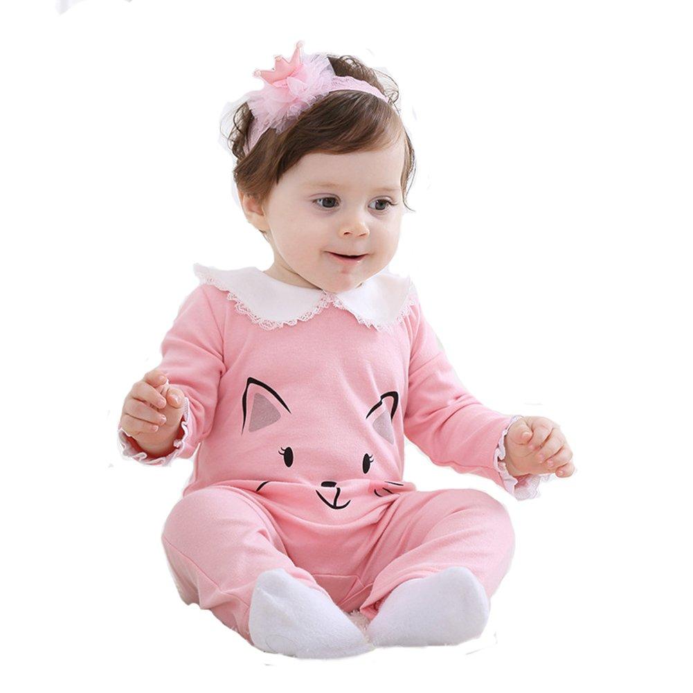 Tonwhar Unisex Baby 100/% Cotton Onesies Baby Bodysuits Romper