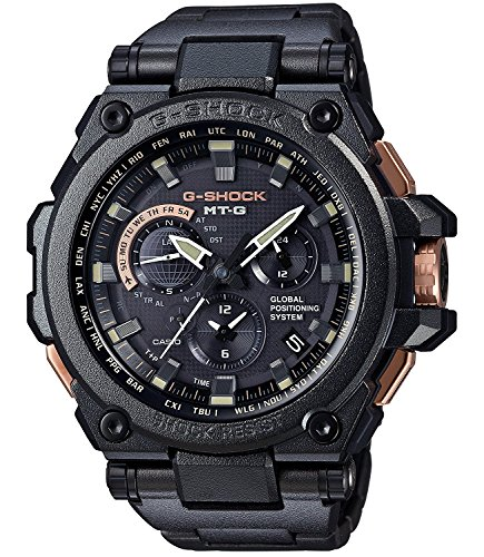 CASIO G-SHOCK MTG GPS Hybrid Radio Wave Solar MTG-G1000RB-1AJF Men's Watch