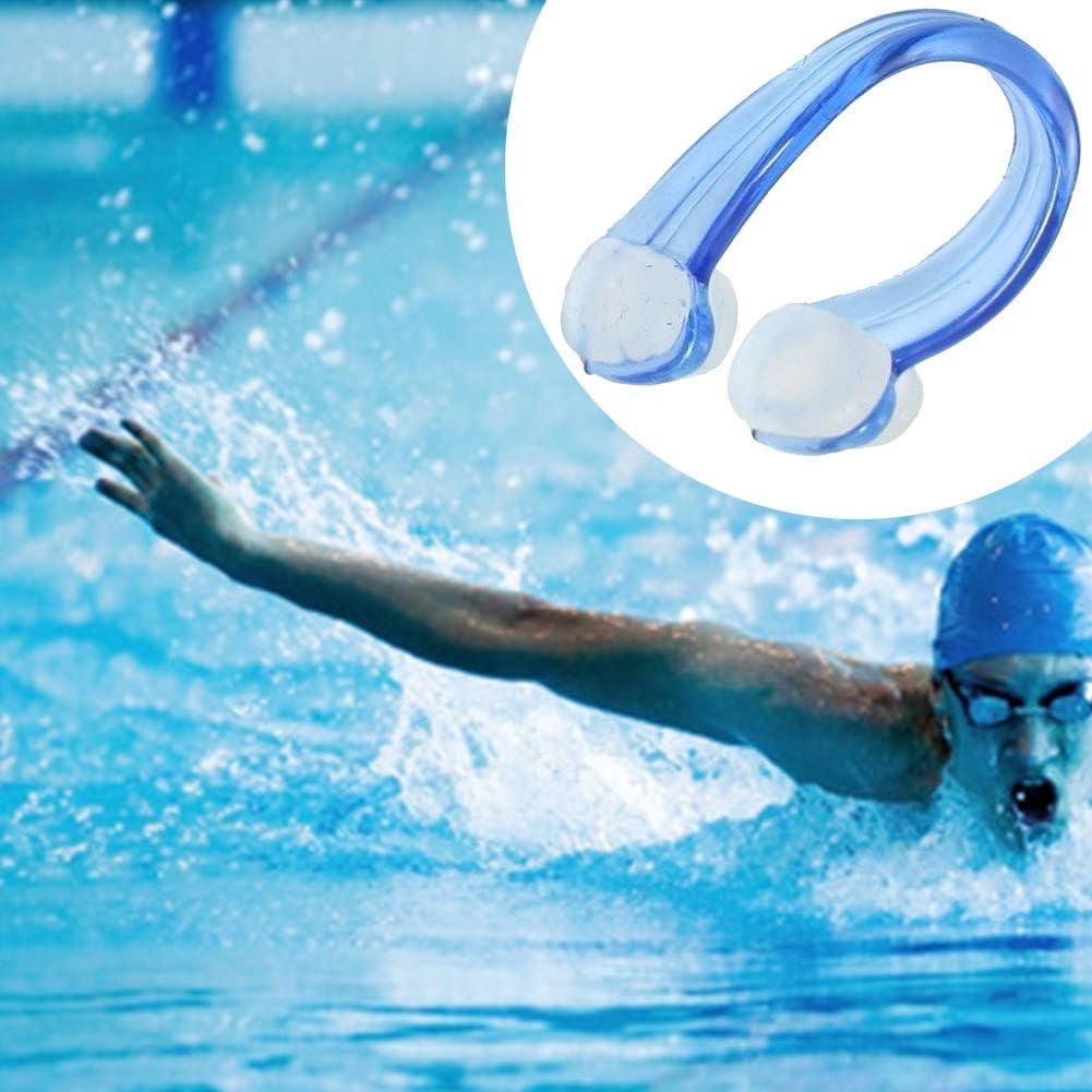 Romote Nose Clip Swim Nose Protector Men Women Clear Blue Pvc Silicone Swim Swimming Nose Clip Unisex Swimming Nose Clip 3pcs
