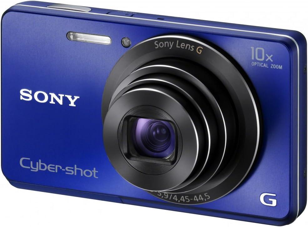 Sony Dsc W690l Cyber Shot Digitalkamera 3 Zoll Blau Kamera