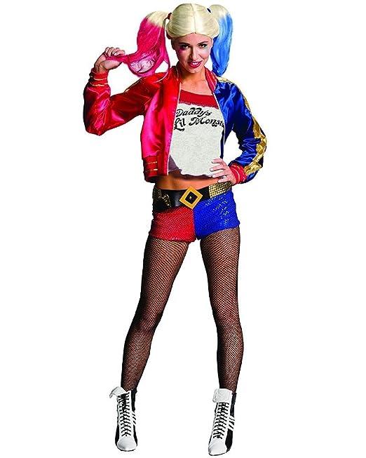 Costume Carnevale Donna Harley Quinn Suicide Squad PS 26034  Amazon.it   Abbigliamento 076bdbfaa07