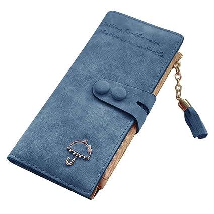 da5195e8b29a Amazon.com: miaomiao Dual Snaps Fasteners Umbrella Tassel Zipper ...