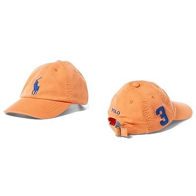Polo Ralph Lauren Boys' Big Pony Chino Sports Cap (Toddler or Little Boys)
