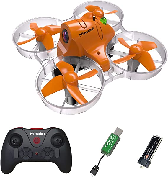 Mirarobot S85 FPV Drone Racing with 720P HD Camera Micro Quadcopter Tiny Whoop