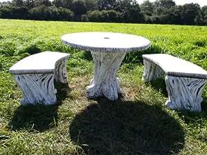 Piedra de mesa de hormigón de Marbella Art.