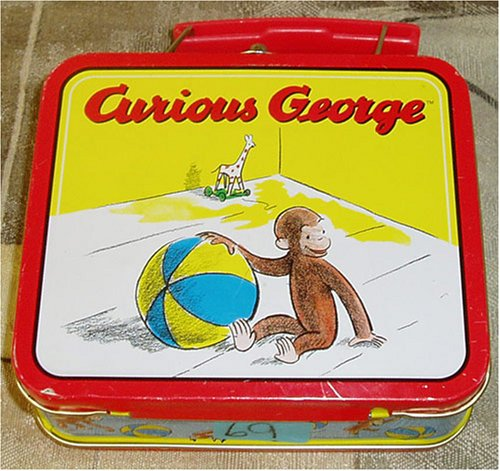 Curious George with Toys Mini Collectible Lunchbox