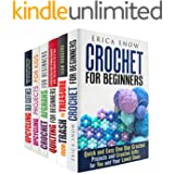 Crochet and Upcycling Box Set (6 in 1): Amazing DIY Crochet and Quilting Projects Plus Upcycling Ideas to Surprise Your Family and Friends (DIY Projects & Crocheting)