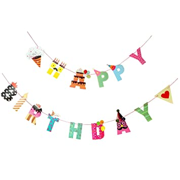 happy birthday banner imluckies party decorations and versatile
