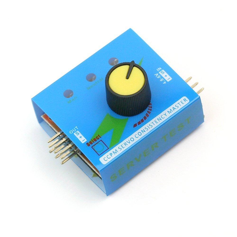 FengYun Vé rificateur de contrô leur de vitesse d'ESC de contrô leur de servocommande de 3CH CCPM multi S9290