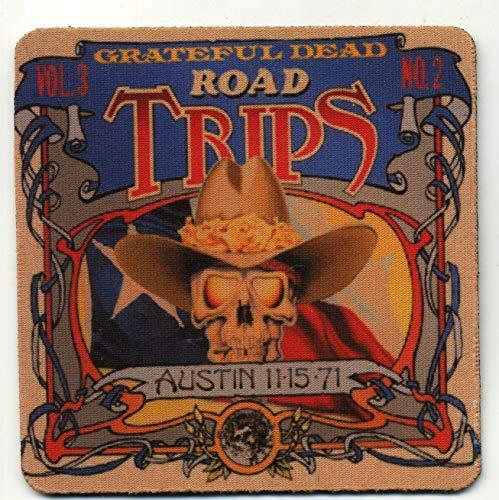 Grateful Dead Album cover COASTER Set - Road Trips Austin 1971