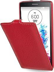 StilGut® UltraSlim Case, custodia in pelle per LG G3s, rosso