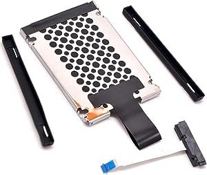 Dea4GO SSD Hard Drive Cable + HDD Hard Drive Caddy Bracket Tray for HP ENVY X360 15-BP 15M-CP 15M-BP 15-CN 14-CD 15m-CN0xxx 15-BQ000 15-BP107TX 15-BP101TX Series 450.0BX02.0011