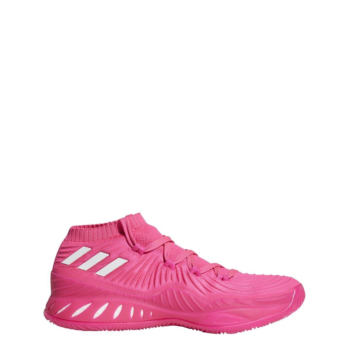 adidas Crazy Explosive Low Shoe Men's Basketball B07B6VFXZN 8.5 D(M) US|Shock Pink-white