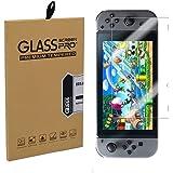 Athelain Nintendo Switch Protector de Pantalla - 2 Unidades Cristal Vidrio Templado 9H Dureza Screen Protector Film para Nint