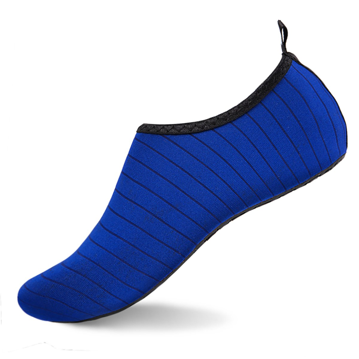 Womens and Mens Water Shoes Barefoot Quick-Dry Aqua Socks for Beach Swim Surf Yoga Exercise (TW.Blue, L)