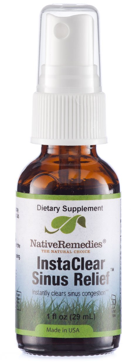 Native Remedies Instaclear Sinus Relief, 1 Fluid Ounce by Native Remedies (Image #1)
