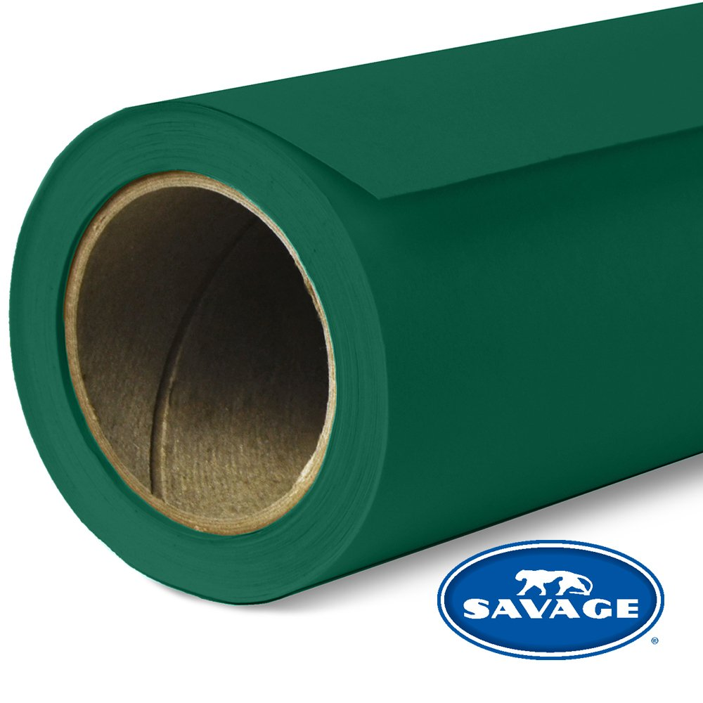 Savage Seamless Background Paper - #18 Evergreen (107 in x 36 ft) by Savage