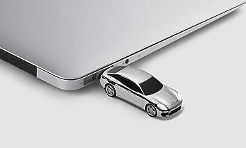 Panamera Turbo USB de memoria stick 8 GB Capacidad * * PLATA * *: Amazon.es: Informática