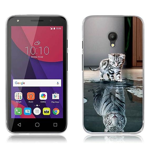 timeless design be7bd d04e9 Amazon.com: Alcatel Pixi 4 (5 inch) 4G 5045I Case, Full-body ...