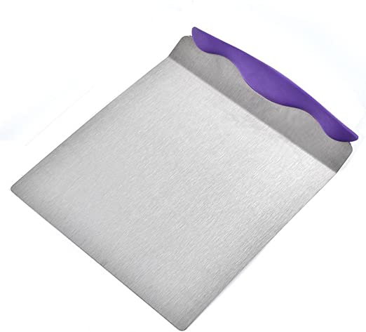 Pies /& Cookies Pizzas Stainless Steel Cake Lifter Pizza Peel Transfer Tray Baking Cake Spatula Moving Plate for Cakes