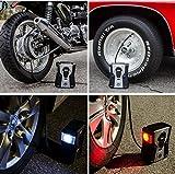P.I. Auto Store - Premium 12V DC Tire Air Compressor Pump – With Removable Pressure Gauge - Portable Digital Auto Tire Inflator. Best for Car, RV, ATV, Motorbike, Bike. With Carry Case